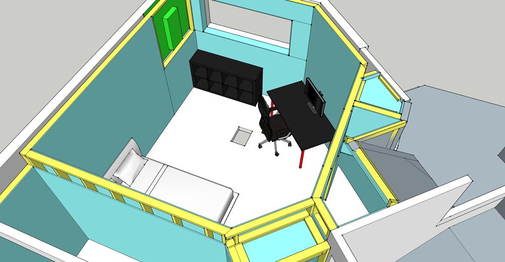 Basement Detailed furnished